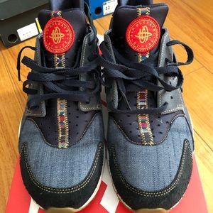 Men's Nike Denim Huarache sz 12